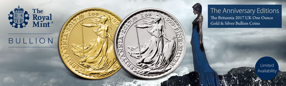 The Britannia 2017 UK Gold & Silver Bullion Coin
