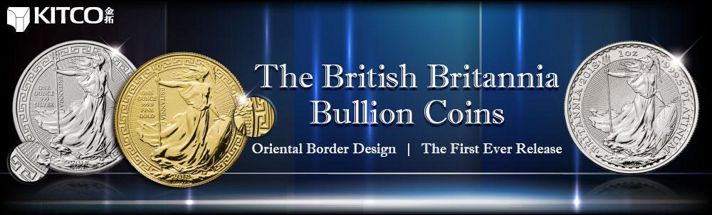 2018 1 oz Platinum British Britannia Coin