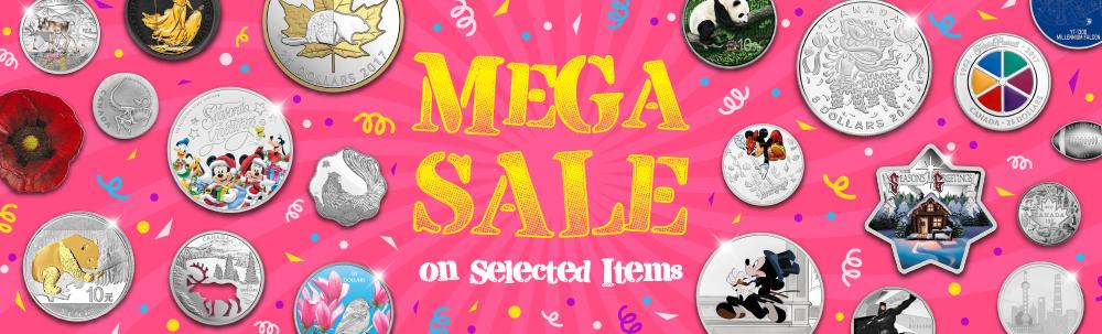 Mega Sale Selected Items