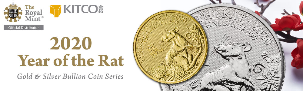 Royal Mint Lunar - Year of the Rat