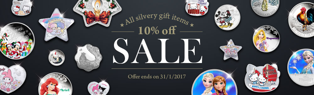 Silvery Gift 10% off